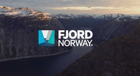 Fjord Norway's website